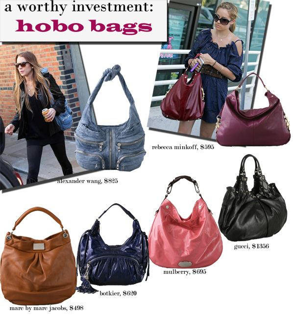 A Worthy Investment: Hobo Bags | a new mode