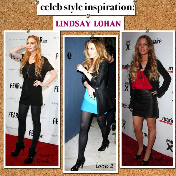Celebrity Style Inspiration: Lindsay Lohan | a new mode