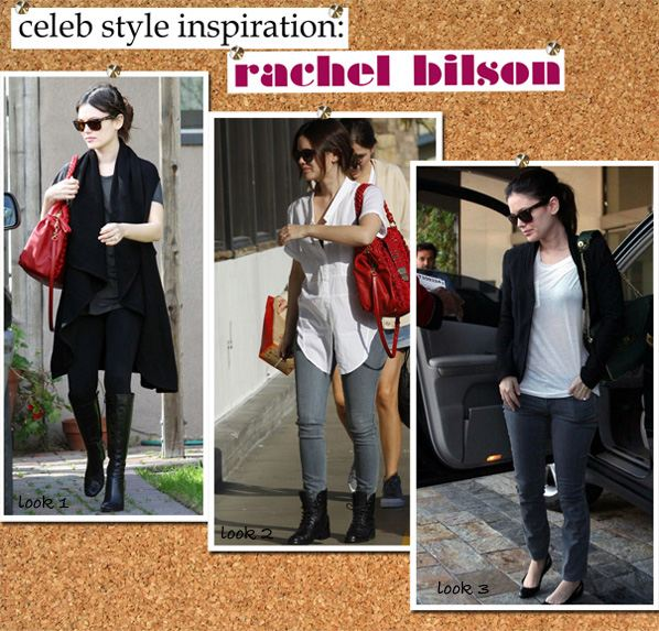 Celebrity Style Inspiration: Rachel Bilson | a new mode :  james perse ray-ban pencey rachel bilson