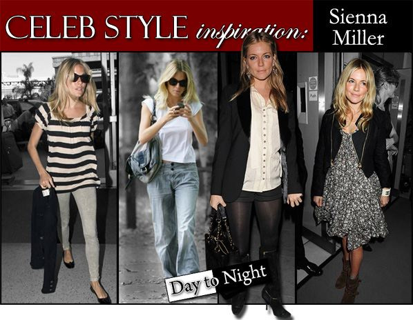 Celebrity Style Inspiration: Sienna Miller | a new mode