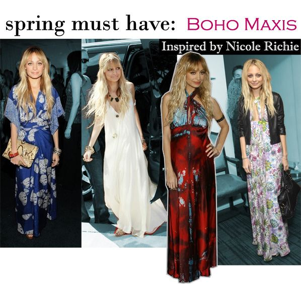 Spring Must-Have: Boho Maxis (Inspired by Nicole Richie) post image