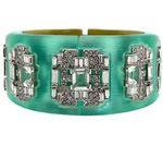 alexis-bitter, Alexis Bitter, jewelry, Accesories, Bangle, Bracelet, statement bracelet