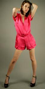 cynthia, Cynthia Vincent, twelfth street by cynthia vincent, romper, jumper, pink romper, fashion, style