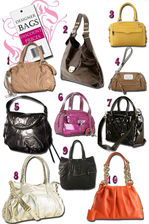 Designer Bags At Discount Prices | a new mode :  linea pelle treesje botkier yves saint laurent