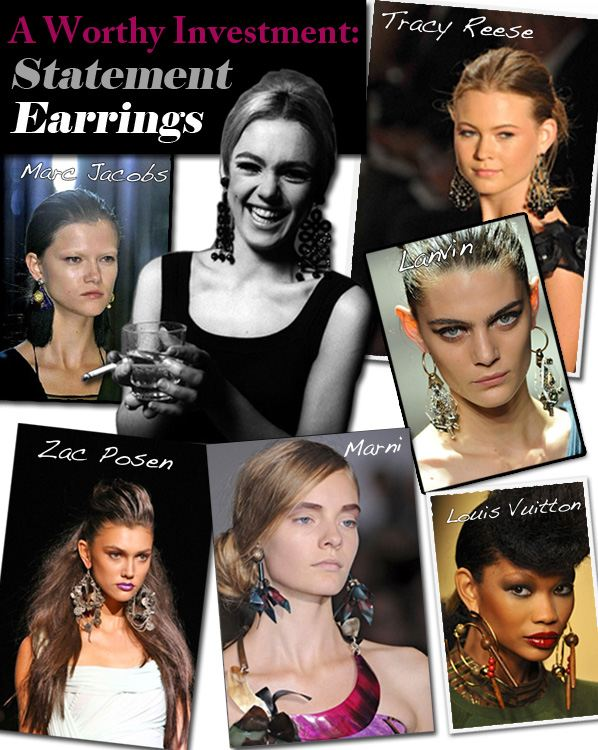 A Worthy Investment: Statement Earrings post image