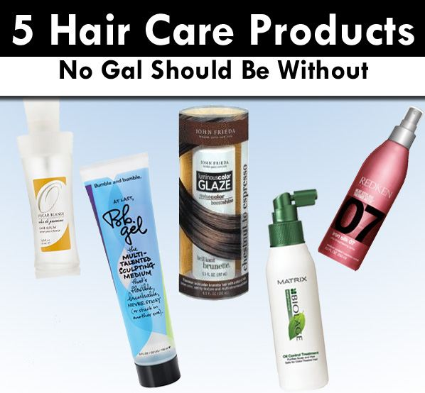 5 Haircare Products No Gal Should Be Without post image
