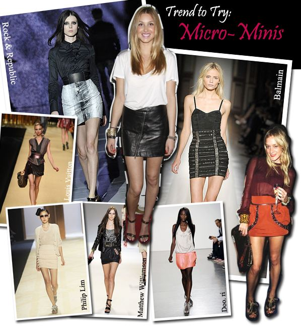 Trend To Try: Micro Minis post image