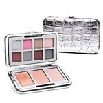 pop-beauty, beauty, Pop beauty, Makeup, Makeup palette, blush, eye shadow, lip gloss