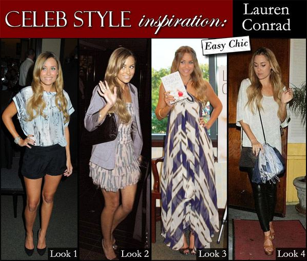 Celeb Style Inspiration: Lauren Conrad. As much as I hate to admit it,