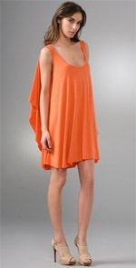 Rachel Pally, dress, orange dress, rachel pally, fashion, style