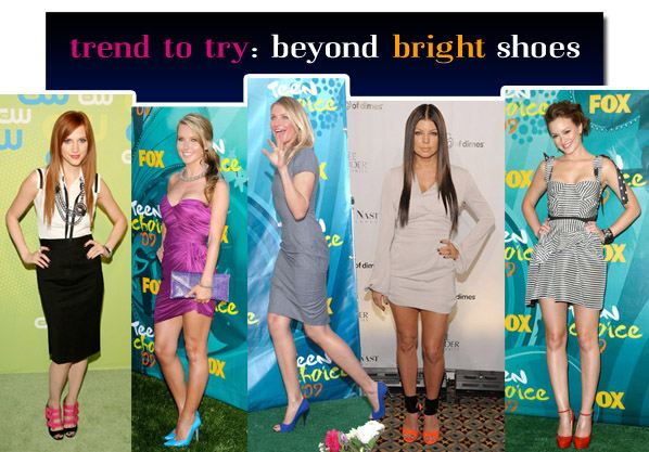 Trend To Try: Beyond Bright Shoes post image