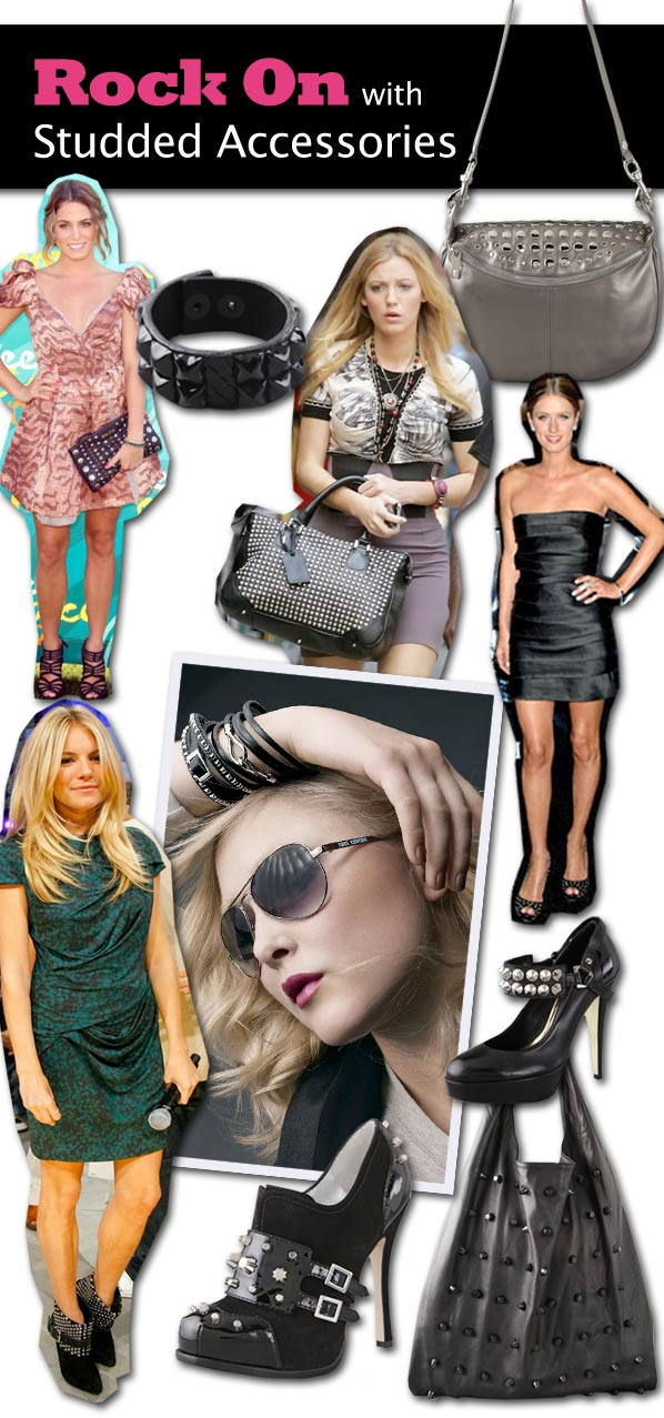 Rock On With Studded Accessories | a new mode