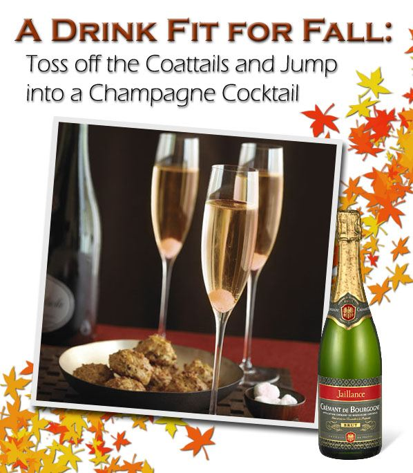 A Drink Fit for Fall: Toss Off the Coattails and Jump into a Champagne Cocktail post image