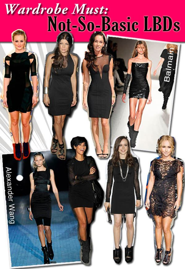 Wardrobe Must: Not-So-Basic LBDs post image