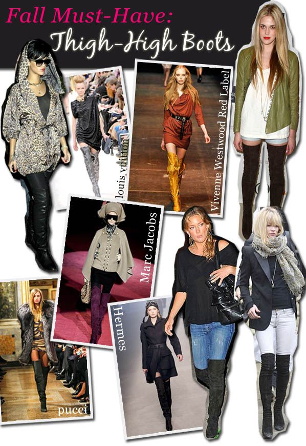 Fall Must Have: Thigh-High Boots post image