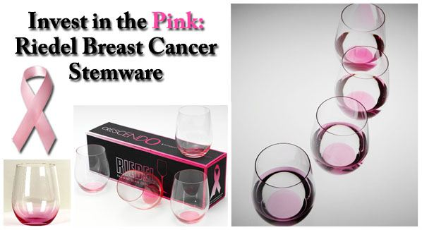 Invest in the Pink: Riedel Breast Cancer Stemware post image