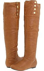 chinese laundry, boots, over the knee boots, cognac boots, shoes