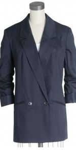 french connection, blazer, boyfriend blazer, navy blazer, fashion