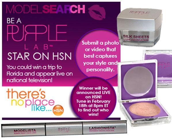 Model Search: Be a Purple Lab Star on HSN post image