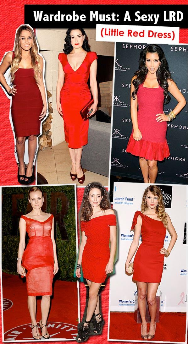 Wardrobe Must: A Sexy LRD (Little Red Dress) post image
