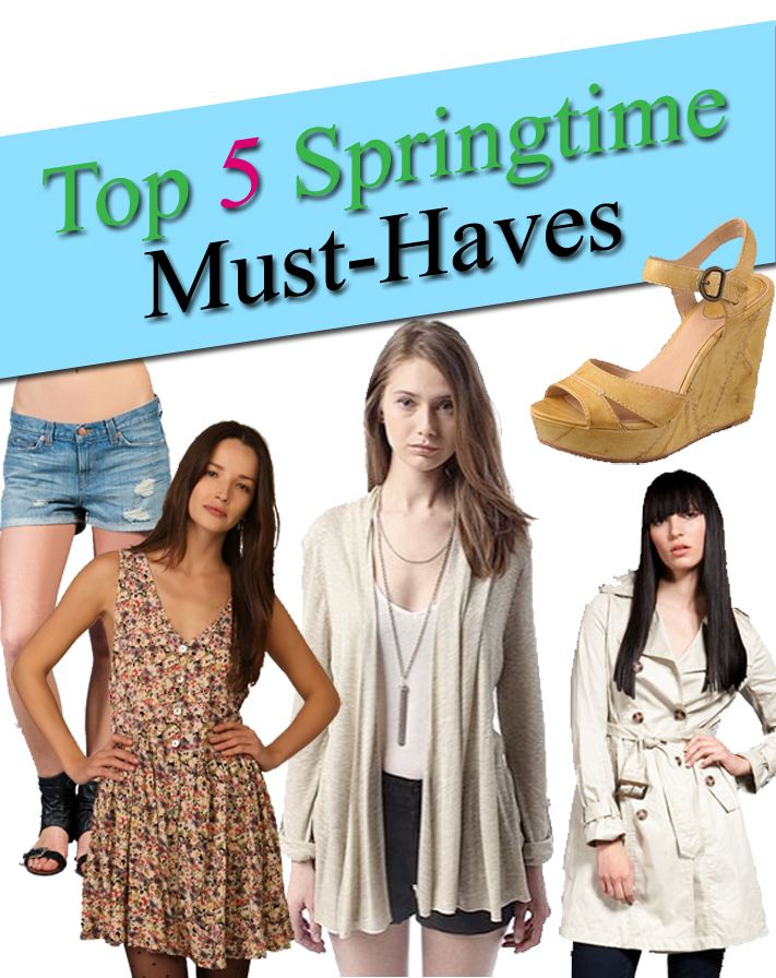 Top 5 Must Have Clothes