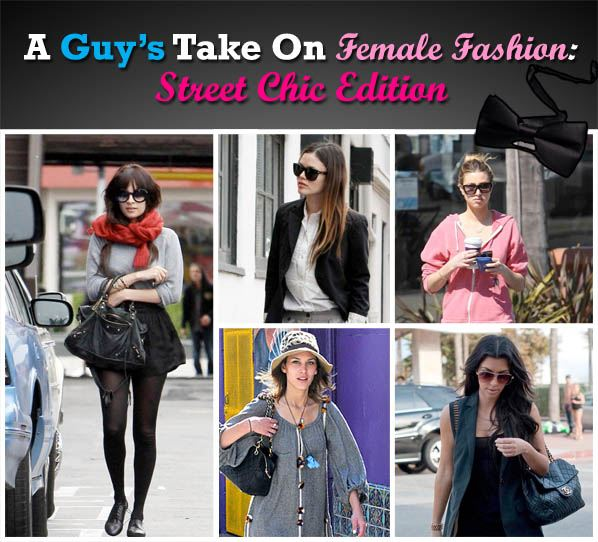 A Guy's Take on Female Fashion: Street Chic Edition post image