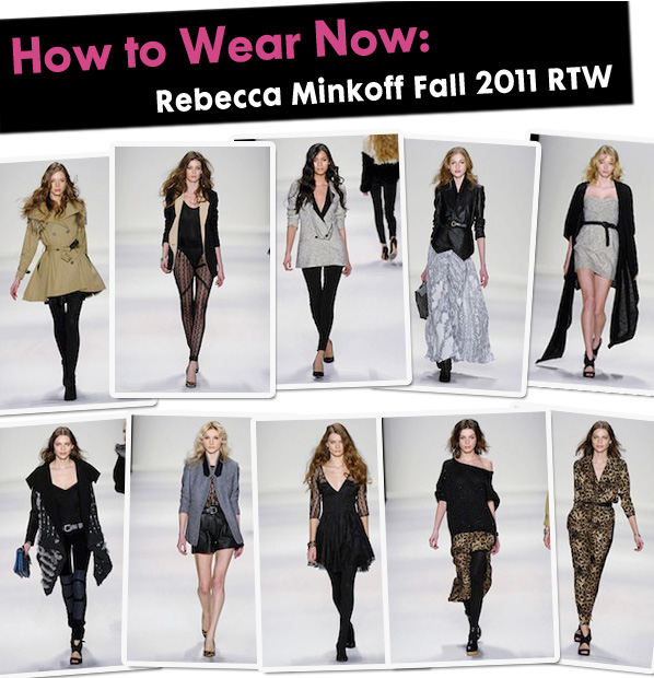 How to Wear Now: Rebecca Minkoff Fall 2011 RTW post image