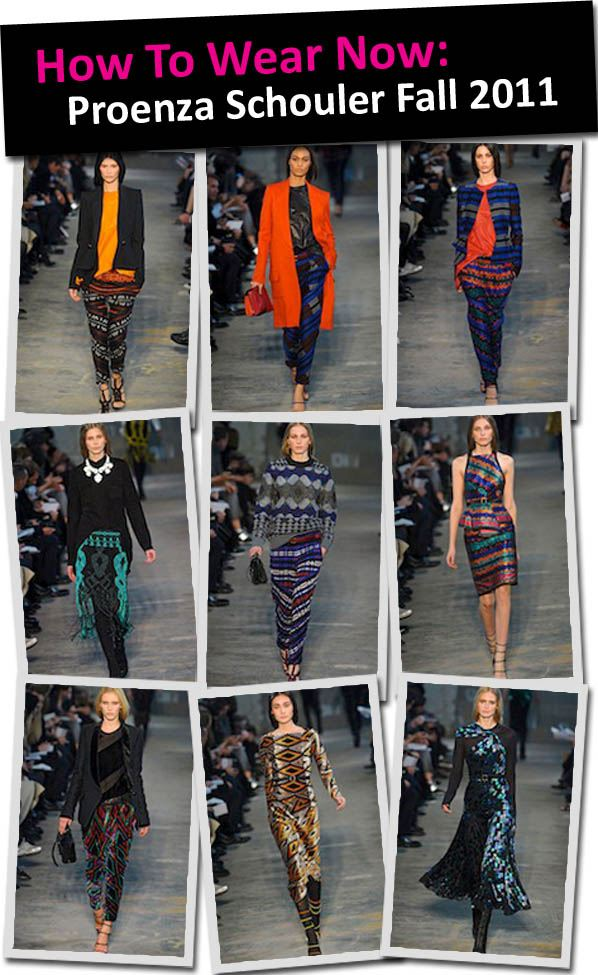 How to Wear Now: Proenza Schouler Fall 2011 post image