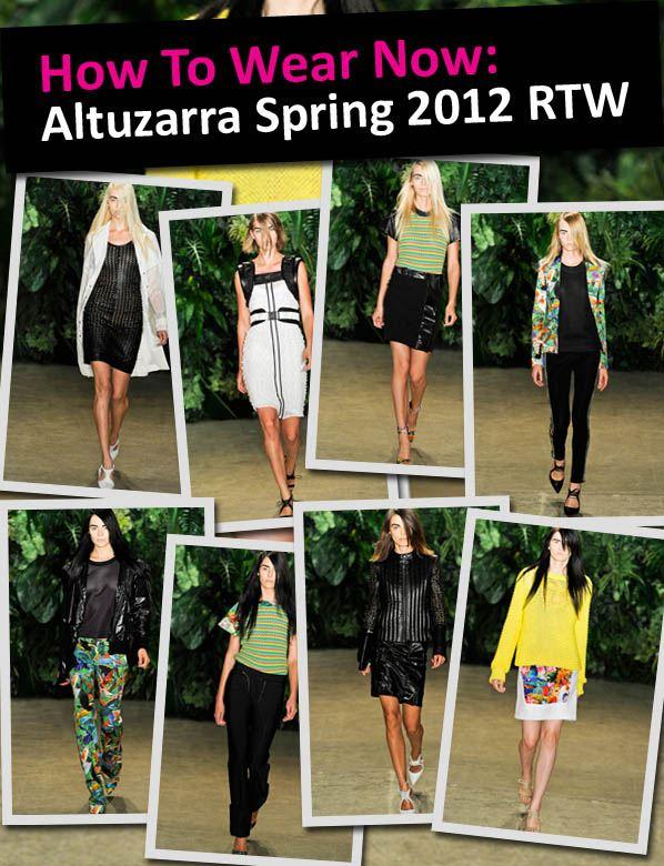 How to Wear Now: Altuzarra Spring 2012 RTW post image