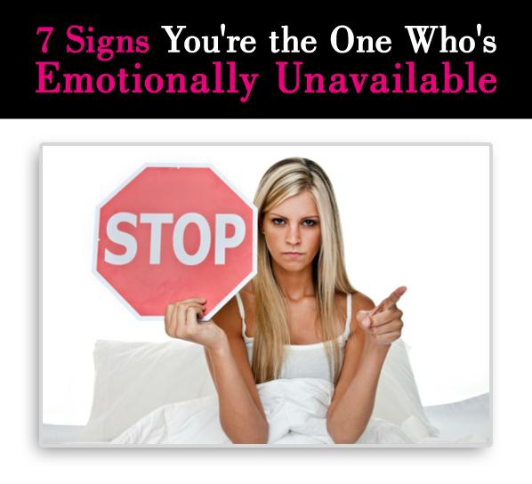 How to overcome being emotionally unavailable