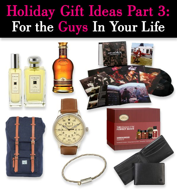 Holiday gift ideas part 3 for the guys in your life for Best guy gifts for christmas