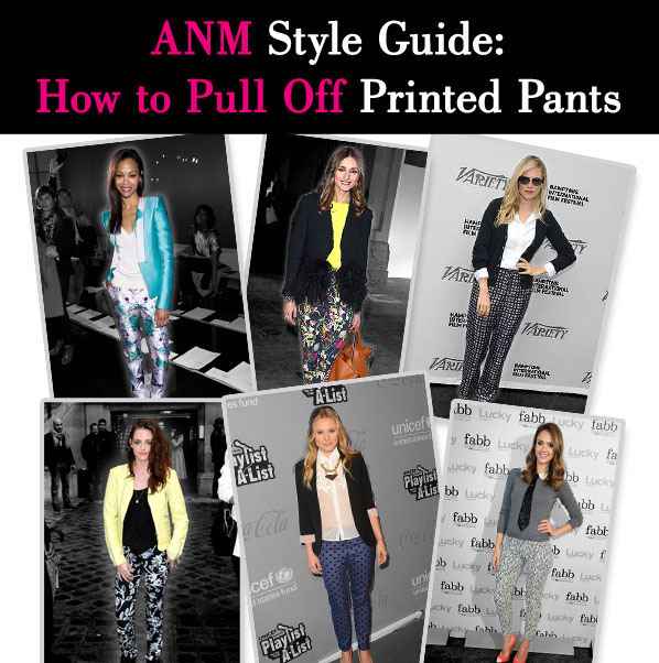 ANM Style Guide: How to Pull Off Printed Pants post image