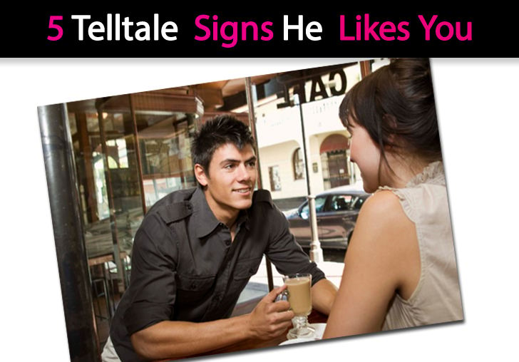 5 Telltale Signs He Likes You post image