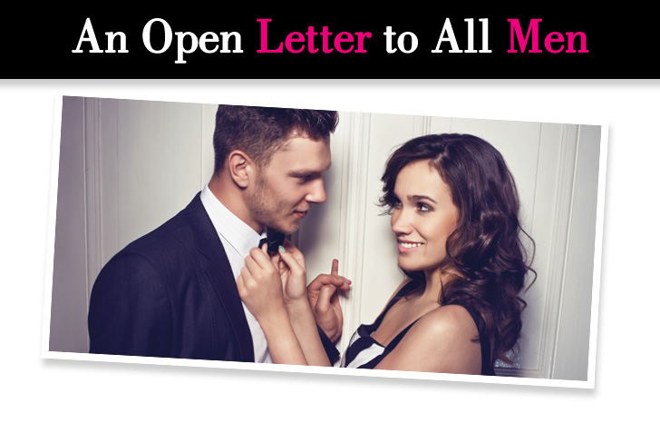 An Open Letter to Men