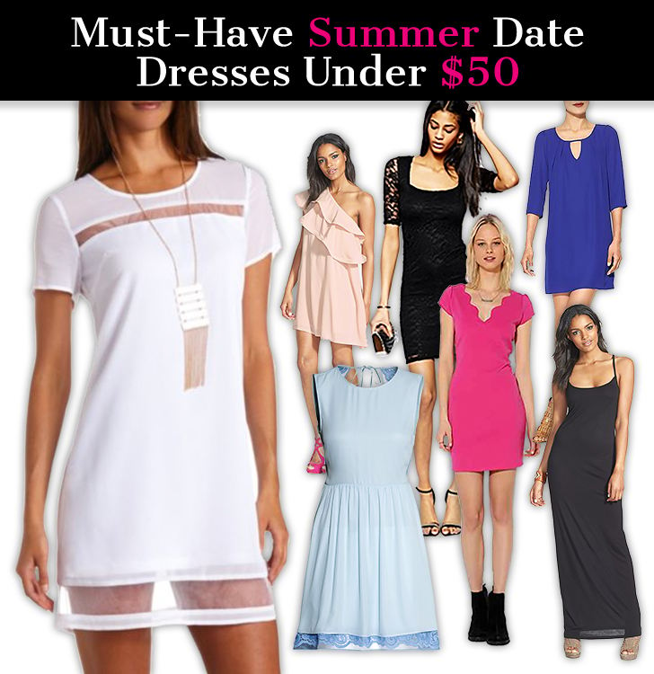 Must-Have Summer Date Dresses Under $50 post image