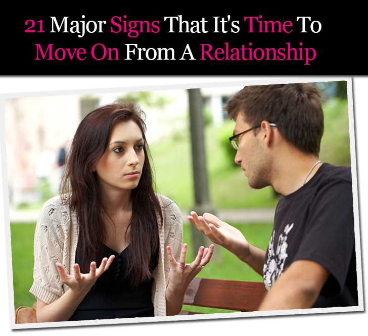 21 Major Signs That It's Time To Move On From A Relationship post image